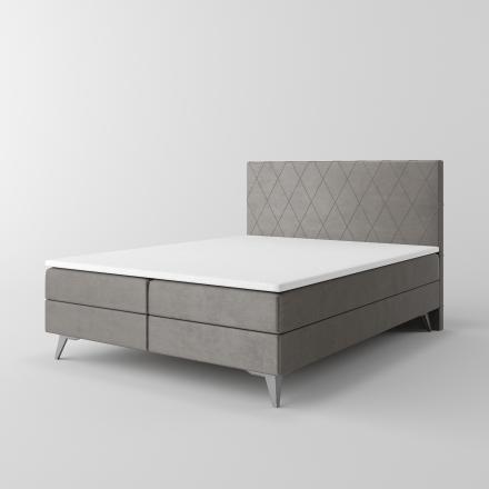 Čalúnená kontinentálna posteľ - 10190