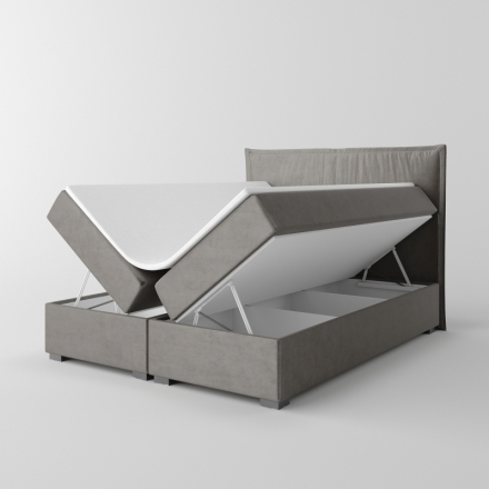 Čalúnená kontinentálna posteľ - 10582