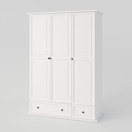 Biela Trojdverová Skriňa - 2153