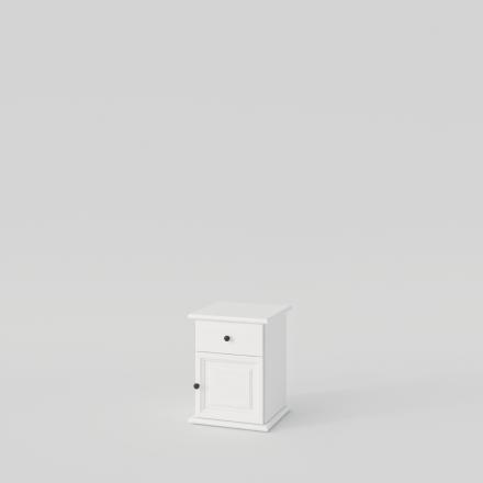 Biely Nočný Stolík - 2165