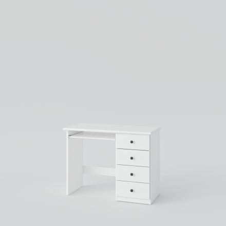 Biely Písací Stôl - 4387