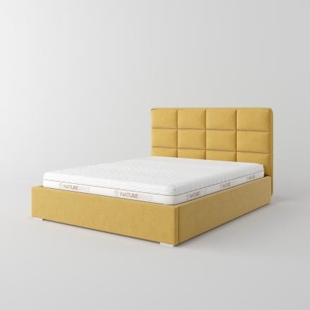 čalúnená manželská posteľ - 5346