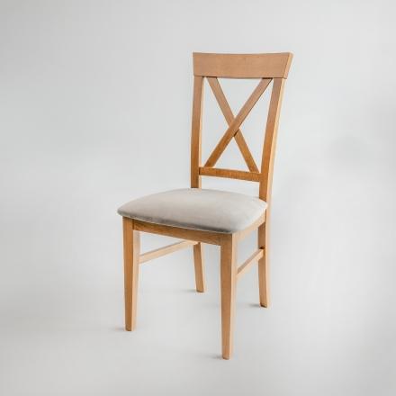 Buková stolička Velvet - 8344
