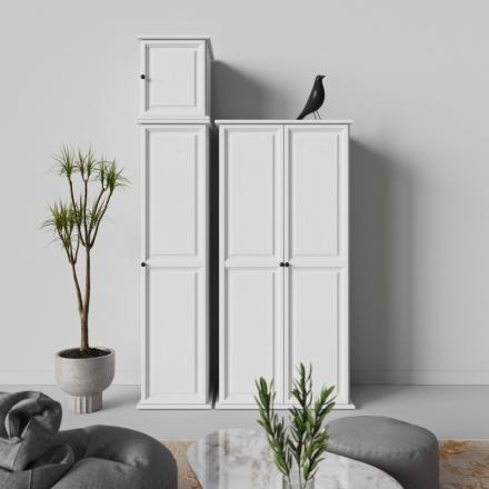 Biela Jednodverová Skriňa - 9609