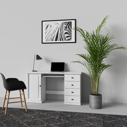 Biely Písací Stôl - 9704